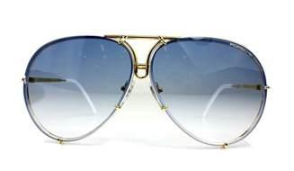 Porsche Sunglasses 8478 Porsche Design Titanium Gold Frame Pilot Sunglasses P 8478