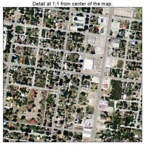 aerial photography map of falfurrias tx