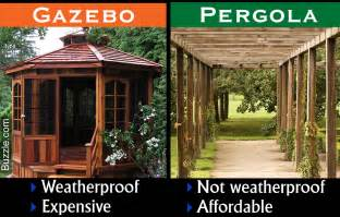 gazebo or pergola how they differ and which is better