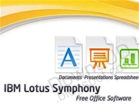 ibm lotus symphony free free ibm lotus symphony 3 version