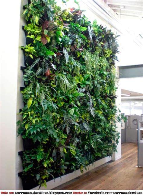 decorar paredes de jardines como hacer un muro hidroponico terrazas y jardines