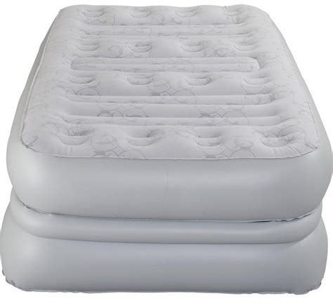 buy aerobed deluxe raised air bed single at argos co uk your shop for guest beds