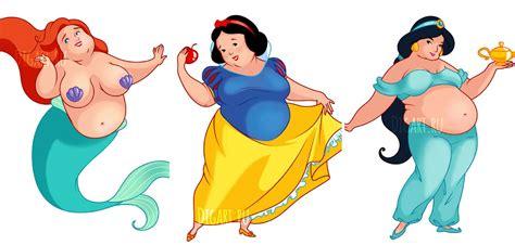 disney princesses les 2013237219 les princesses disney imagin 233 es avec quelques kilos en plus grazia