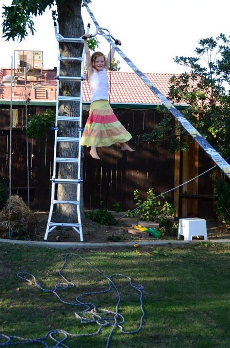 backyard zip line without trees pinterest the world s catalog of ideas