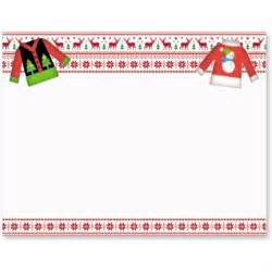 ugly christmas sweater postcards paperdirect