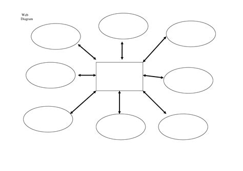 Template Diagram by 5 Best Images Of Spider Web Diagram Template Spider