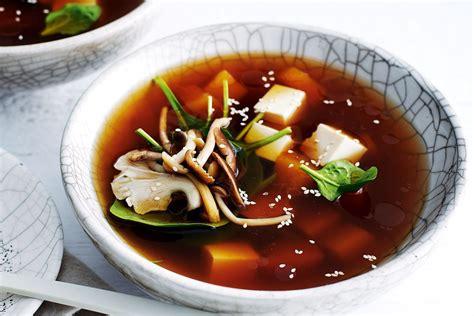 japanese pumpkin  tofu soup recipes deliciouscomau