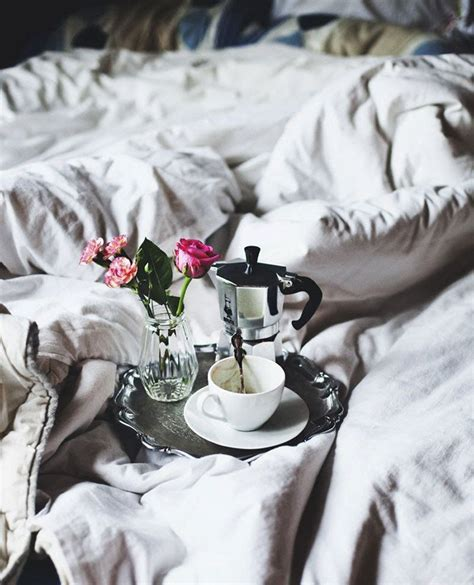 coffee in bed this sunday stay in beddentelle fleurs