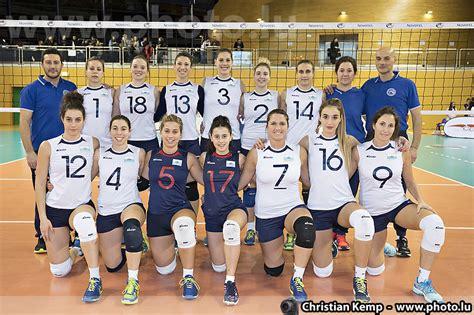 femminile test volley per la nazionale femminile buon test in