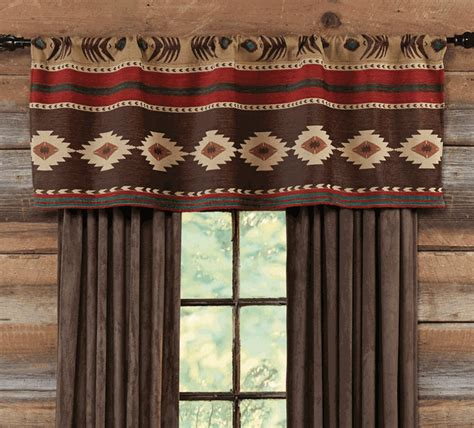 southwest style curtains desert horizon southwest valance