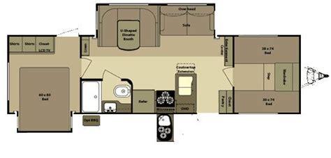 open range travel trailer floor plans open range roamer rt296bhs travel trailer floor plan