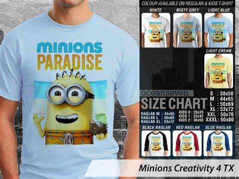 kaos minions lucu unik kaos desain unik minions