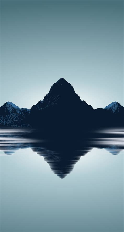 wallpaper iphone 6 minimal minimal mountains wallpaper for iphone 5s by barrieau on