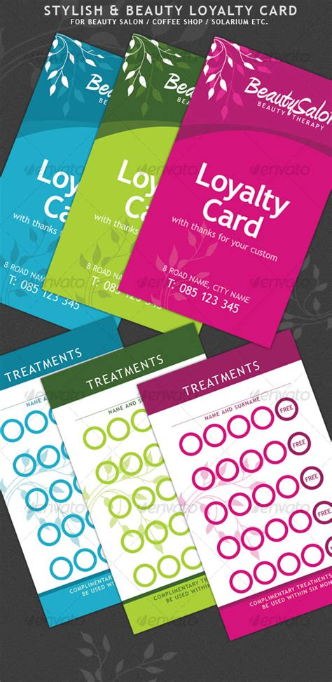 loyalty card template psd free and stylish loyalty cards by vesthar graphicriver