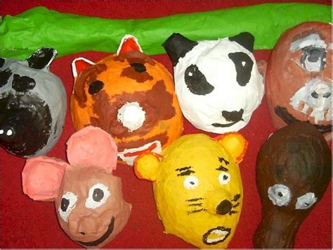 Paper Mache Crafts For Preschoolers - 1000 ideas about masks on paper plate