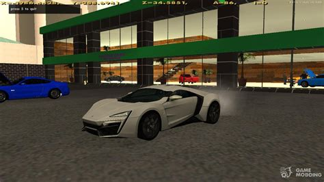 lykan hypersport doors w motors lykan hypersport for gta san andreas