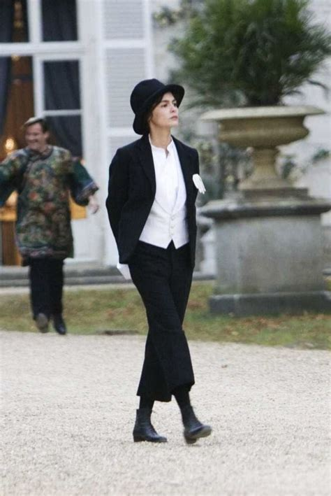 film tentang coco chanel audrey tautou s mannish suit in coco avant chanel