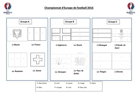 flags of the world ks2 euro 2016 french groups flag colouring by rpaterson89