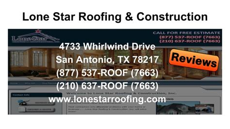 lone roofing and construction reviews lone roofing reviews san antonio tx roofing