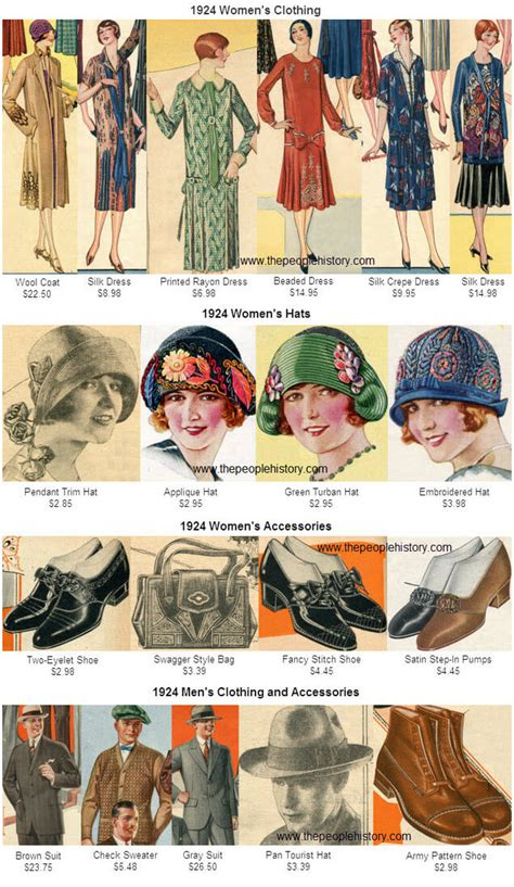 clothing style 1924 what happened in 1924 fashions pop culture events and