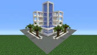 minecraft tutorial how to make a modern hotel