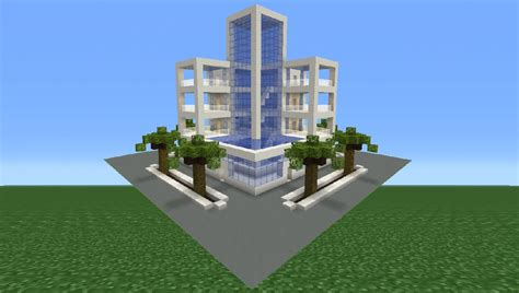 How To Furnish An Apartment minecraft tutorial how to make a modern hotel youtube