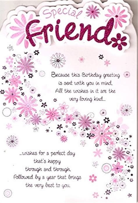 Happy Birthday Card To A Special Friend Special Friend Happy Birthday The Big Card Company Http