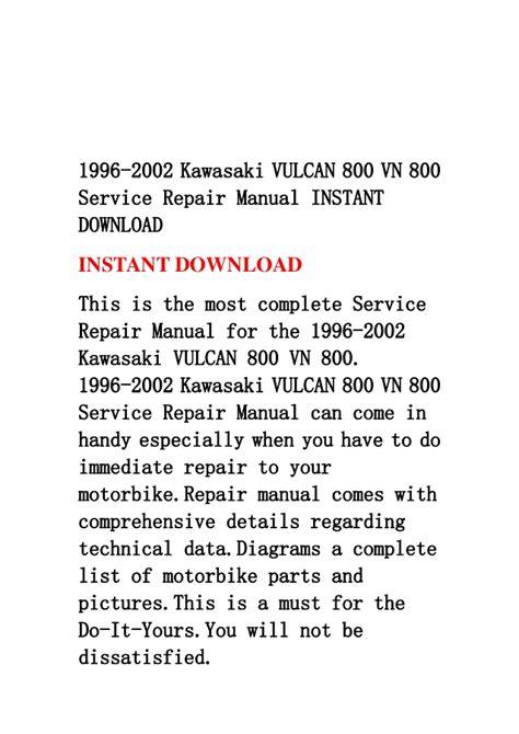 service manual repair manual download for a 1996 volvo 850 repair manual download for a 1996 1996 2002 kawasaki vulcan 800 vn 800 service repair manual instant do