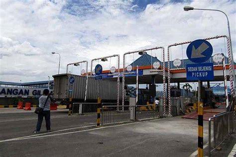 Jembatan Timbang Kendaraan jembatan timbang pelabuhan gilimanuk diujicobakan