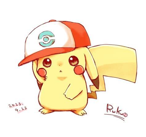 cute pikachu cute pikachu with hat by yo pokemon moment dingue pinterest pok 233 mon kawaii