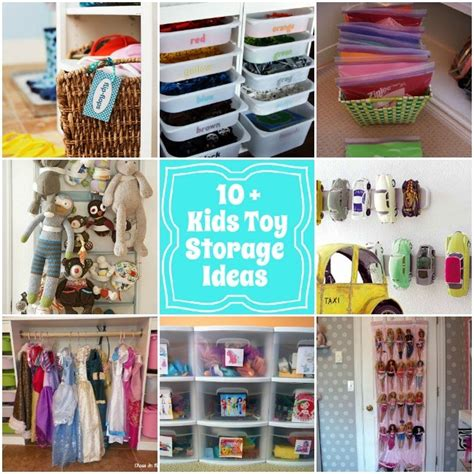 kid toy storage ideas organization playroom toy storage