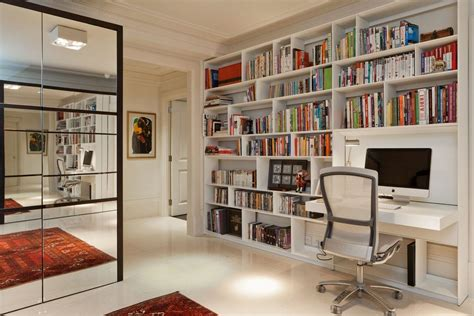 built in desk and bookshelves bookcases built in desks home office contemporary with