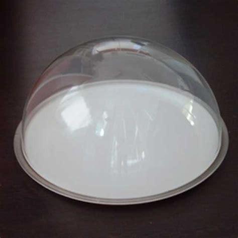 cupola in plexiglass cupola plexiglass mezza sfera su vassoio ludovic plexiglass