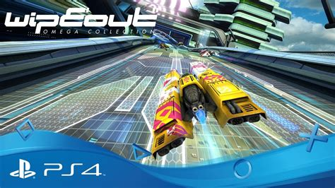 Kaset Ps4 Wipeout Omega Collection wipeout omega collection psx 2016 announce trailer ps4