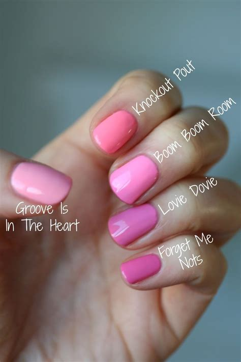 pink nail colors 25 best ideas about pink on pink nail