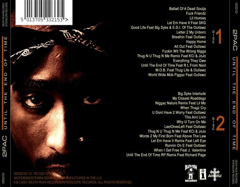 pac until the end of time album download cover 2pac