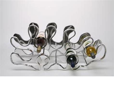 Stainless Steel Wine Racks by Dreamfurniture Stainless Steel Wine Rack