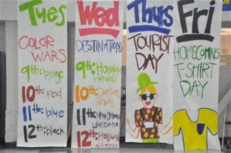 cute themes for homecoming week 33 best images about spirit week on pinterest spirit
