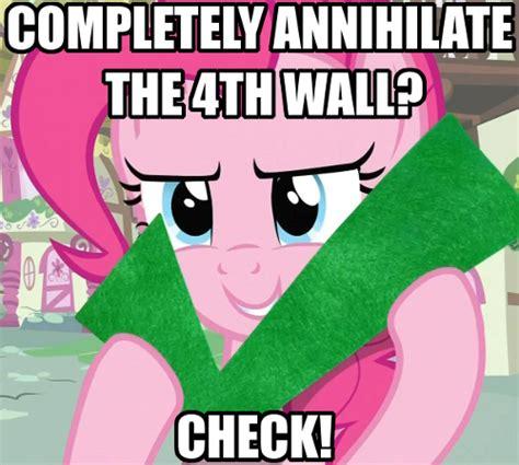 Pinkie Pie Meme - image 321269 pinkie pie breaking the 4th wall know