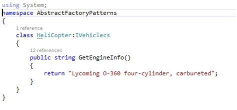 pattern programs in c sharp abstract factory pattern in c