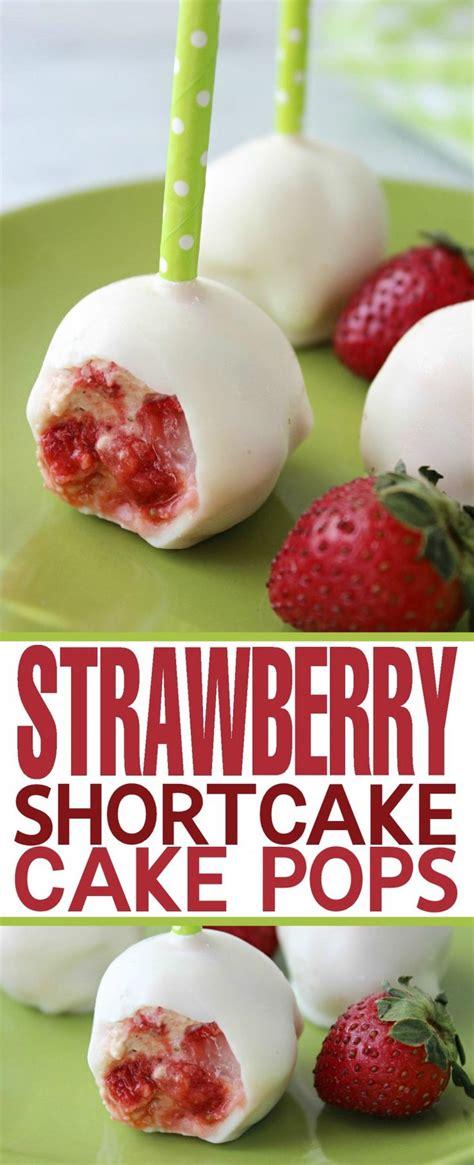 Fridays Fresh Tasty Pop Noshables by 17 Best Ideas About Strawberry Cake Pops On