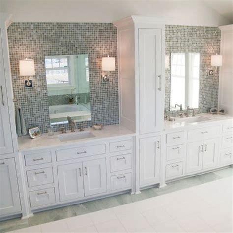 mirrored tile backsplash contemporary bathroom ana 41 best images about tile work behind bathroom mirror on