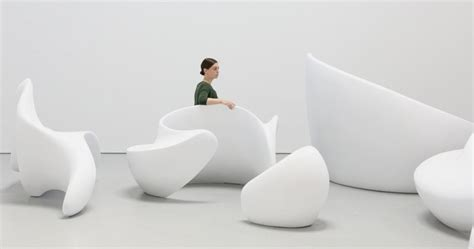 sculptural seating collection shaped  arabic script