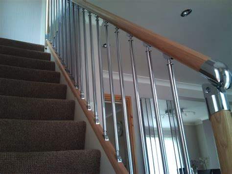 Wood Banister Stairs