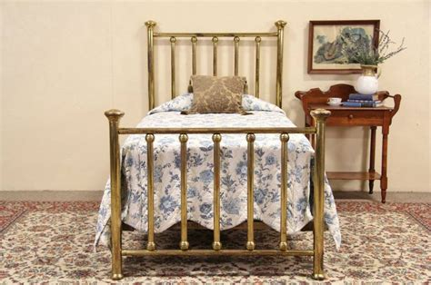 vintage twin bed brass antique 1900 twin bed ebay