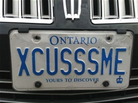 Ontario Vanity Plates by 175 Best Images About Vanity Plates On