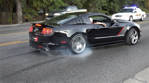 mustang burnouts mustang burnouts and roush appearance