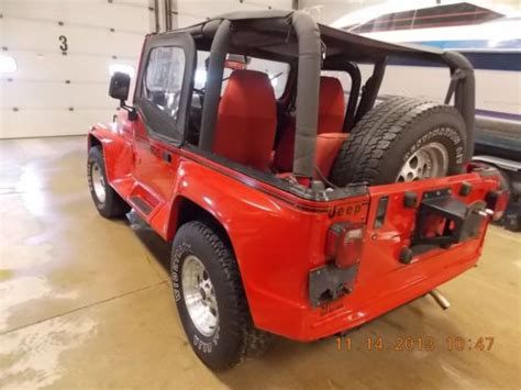 Jeep Wrangler 1992 Parts Find Used 1992 Jeep Wrangler Renegade Parts Only No