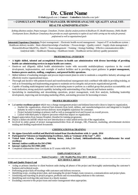 Resume For Business Analyst In India Resume For Business Analyst In India