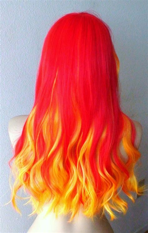 pretty colored hair pretty colorful wigs l email wigs
